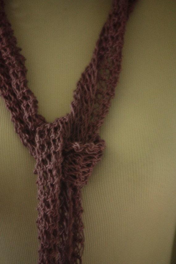 Soft Grape Fashion Scarf