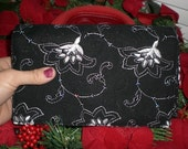 Classy Black and white Pocket Book, Clutch Purse, Coupon, File, Organizer, CK BAGS