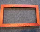 8X16 Spalted Maple with orange dye Picture Frame - RaysWoodworking