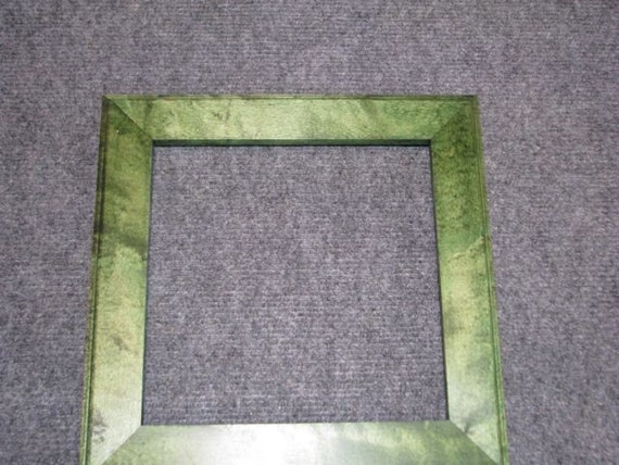 8x8 Rock Maple with Green Dye Picture Frame