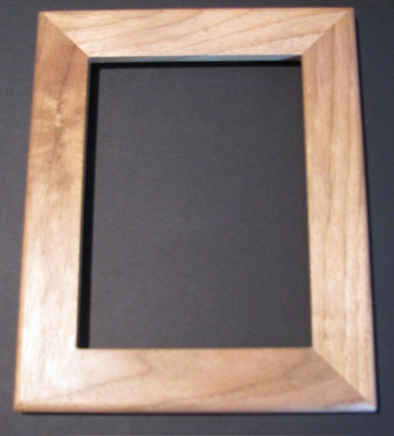 6 X 8 Butternut Picture Frame