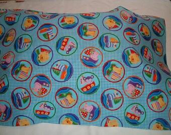 SALE  ---   Happy Animals Pillowcase