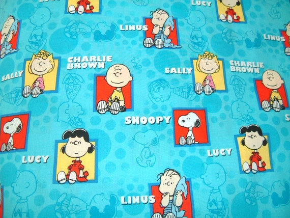 Linus/Snoopy/Sally/Lucy  Travel/Toddler Size Pillowcase