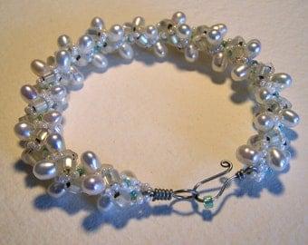 Wedding Pearls Bracelet