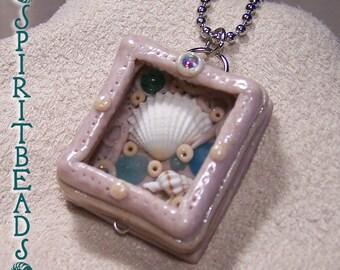 Treasure Trinket Shell Box