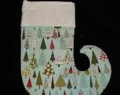 Reserved for Dianie Mac Designs Classic Trees Mini Stocking