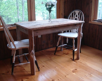 """Driftwood Dining Room Table (""""42x26""""x29""""H)"""