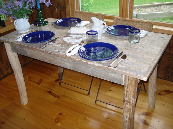 "Driftwood Table (50"" x 27"" x 29""H)"