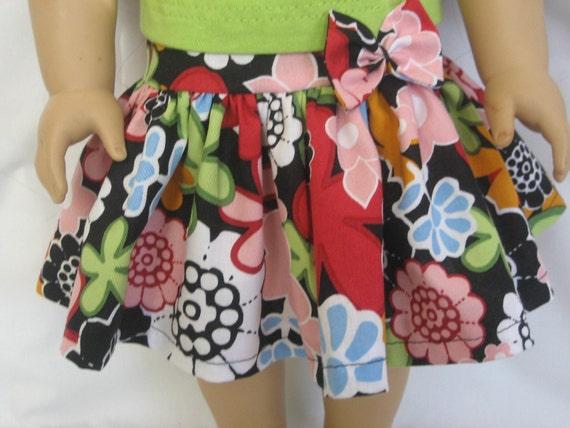 Colorful Flower Skirt