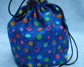 Small Project Bag -- Knitting, Crochet, Sewing, Crafting