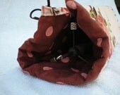 Spindle/ Trindle Project  Bag for  Spinning on the go