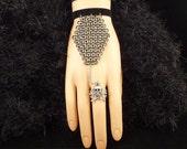 Death Chainmaille Coffin Bracelet