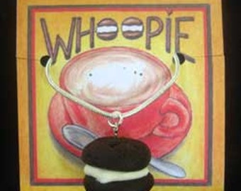 Whoopie Pie Necklace