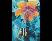 No. 2 ACEO Friendship Learning Reserved for Diane BEST COMPO