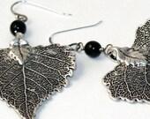 SALE Lacy Leaf Earrings