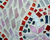 Mosaic Garden Stone Bleeding Hearts