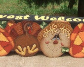 11007 Harvest Welcome Decorative Painting Pattern from Oil Creek Originals