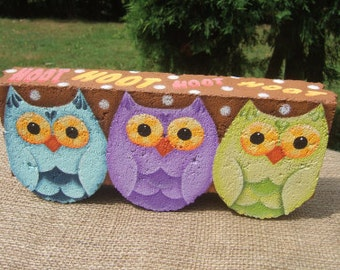 HOOT Decorative Painting Pattern from Oil Creek Originals