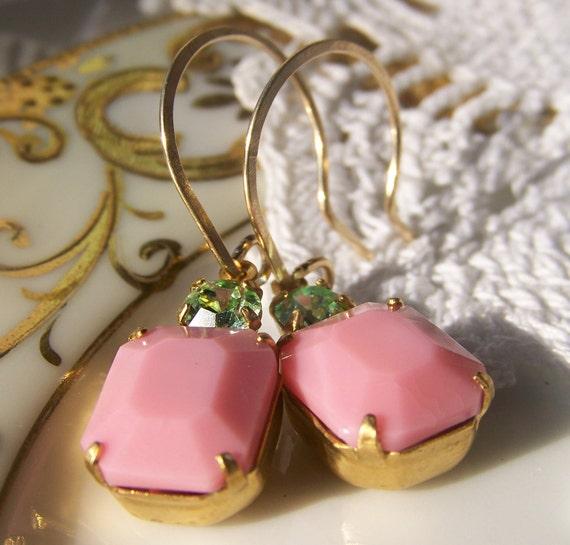 Bubblegum Pink Earrings