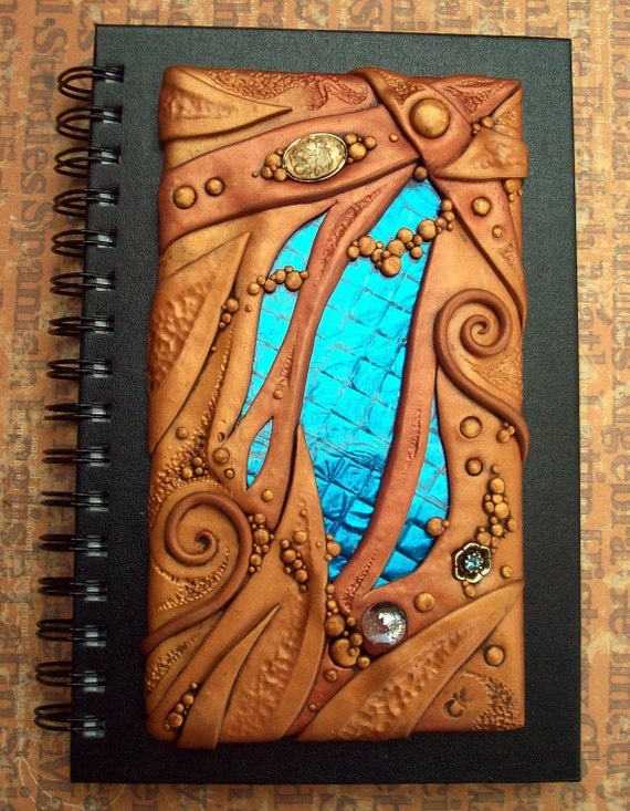 Desert Waters Blank Spiral bound Journal