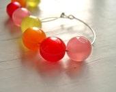 ON SALE SALE Fruits on  the Loop earrings