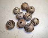 African Brass Cage Beads