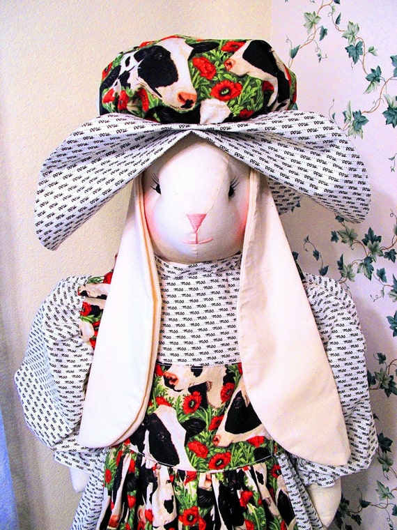 Vacuum Cleaner Cover Novelty Upright Decorative Bunny By