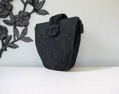 BLACK SWAN vintage 40's Cordé handbag