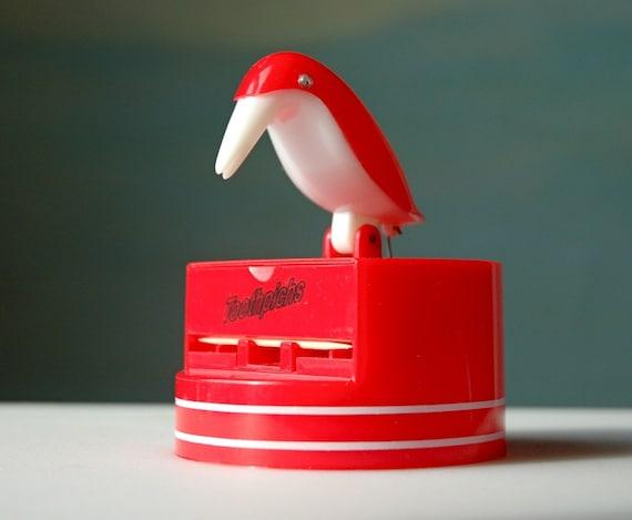 Vintage novelty toothpick dispenser red by domestikate on etsy - Novelty toothpicks ...