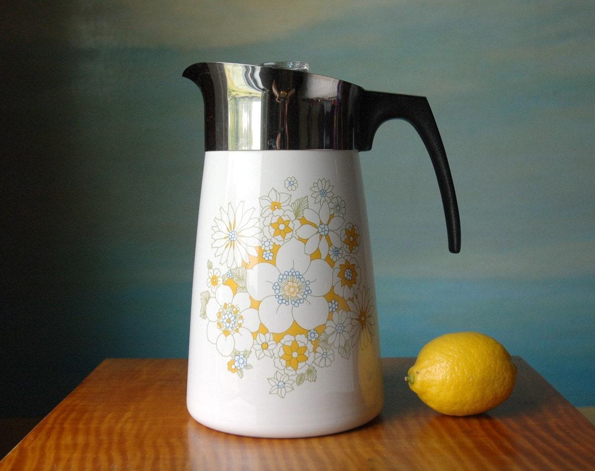Corning Ware 9 Cup Coffee Percolator Corningware By