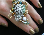 Sea Anemone Cocktail Ring