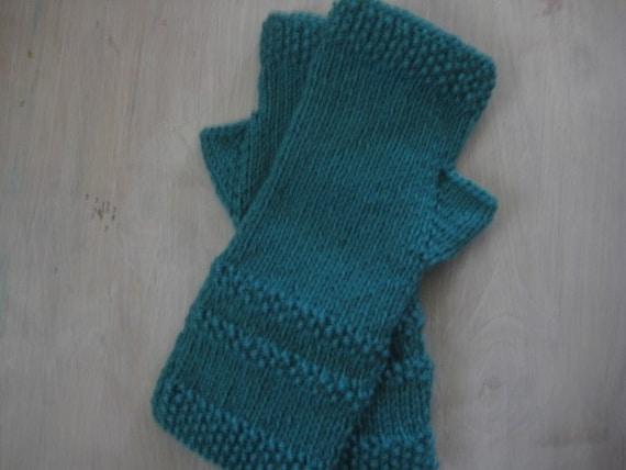 PDF Pattern of EASY Knit Fingerless Gloves