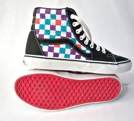 Vans Off The Wall Shoes High Tops