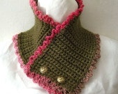 Crochet Pattern PDF for Victorian Neck Cozy in 2 Variations - permission to sell what you make