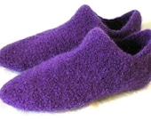 CROCHET PATTERN PDF for Felted Wool Slipper Socks  Womens size 8-9 -  permission to sell what you make