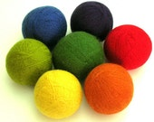 Eco-Friendly Wool Yarn Felted Dryer Balls DIY Tutorial PDF