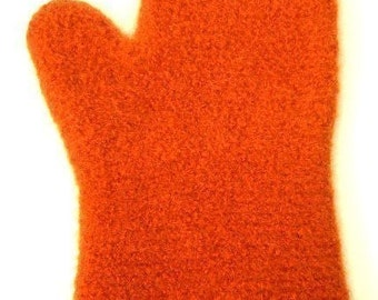 Pattern PDF for Crocheted Felted Oven or Grill Mitt - permission to sell what you make