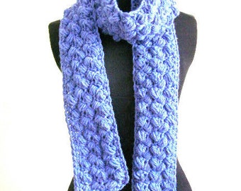 Bobble Scarf Crochet Pattern PDF - permission to sell what you make