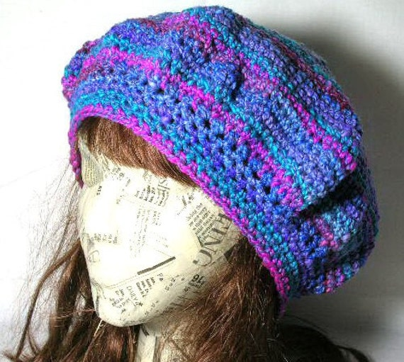 The Ellie Beret Crochet Pattern PDF - permission to sell what you make