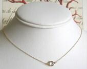 Giada Single Necklace - Gold