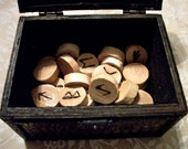 Handmade Wooden Rune Set