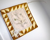 Quilt Wall Hanging Queen Annes Lace Embroidery Nature