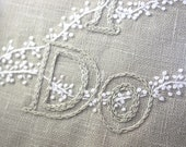 Wedding Decor Hand Embroidery Personalized I Do w frame and Etsy Handmade