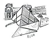 Louvre Museum Art Print