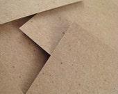 100 Square Tags - Kraft Paper