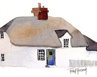 English Cottage 6-Print