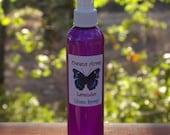 Lavender Linen Spray, Room Spray, and Light Body Spray 4 oz. - Guest Room, Children, Pets, Room Spray. Body Spray