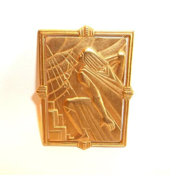 JJ Deco style pin