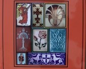 CREATING CUSTOM ART TILES--STAMPS AND STENCILS--DISCOUNT