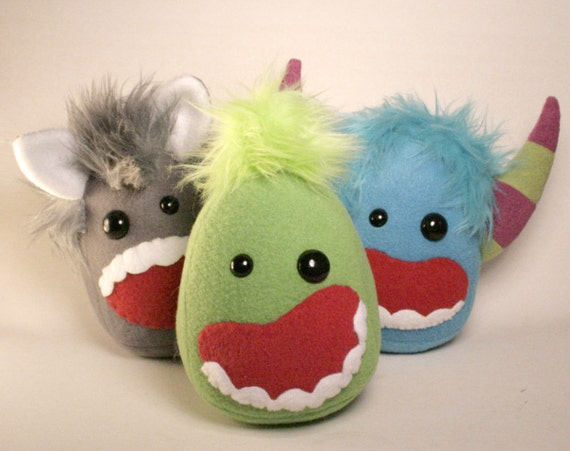 Green Monster Plush READY TO SHIP